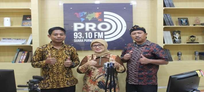 "Talk show bersama kepala Dinas Kominfo Kab. Purwakarta ""Visi dan Missi Program kerja tahun2020"""