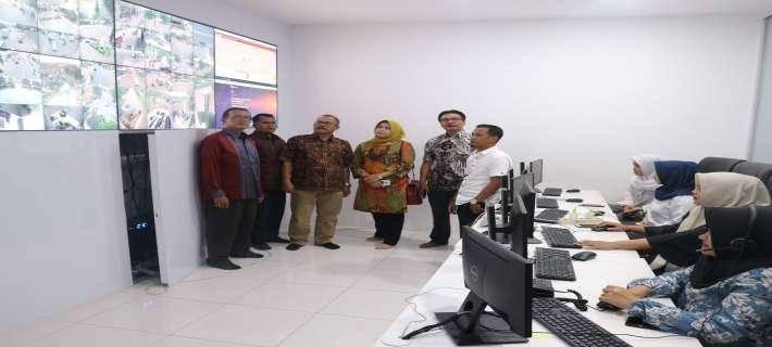 Command Center Pemerintah Kabupaten Purwakarta membuat ketertarikan kunjungan dari Kota Payakumbuh