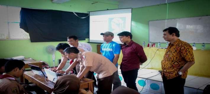 Sosialisasi bidang Aptika dan Pembentukan Komunitas IT di SMKN 2  Purwakarta